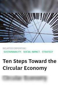 Ten Steps Toward the Circular Economy summary