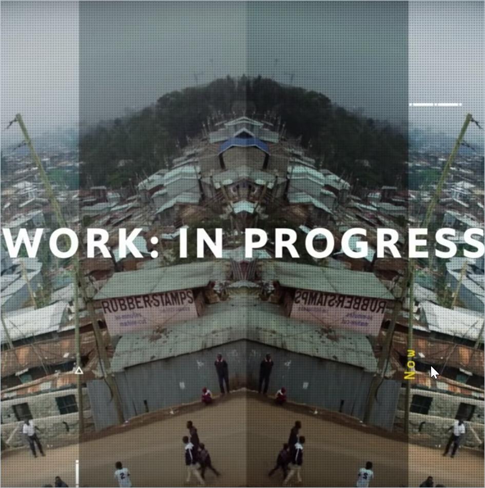 Image of: Work: In Progress