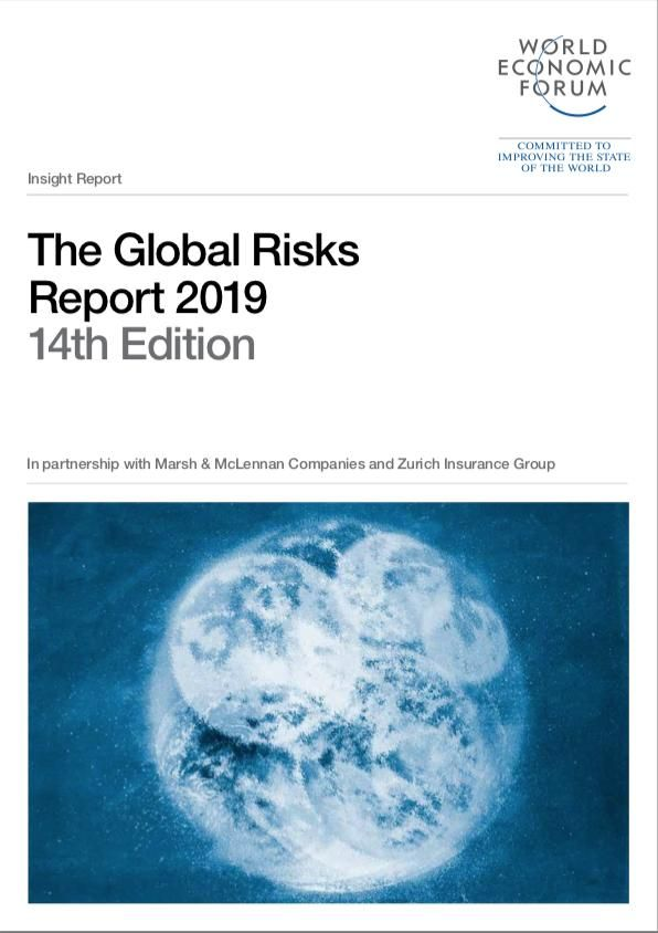 Image of: The Global Risks Report 2019