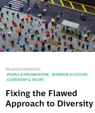 Image of: Fixing the Flawed Approach to Diversity