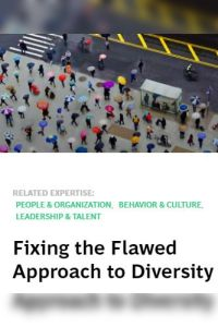 Fixing the Flawed Approach to Diversity summary