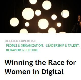 Image of: Winning the Race for Women in Digital