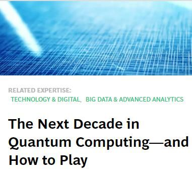 Image of: The Next Decade in Quantum Computing – and How to Play