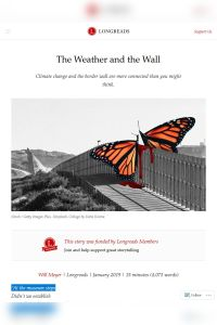 The Weather and the Wall summary