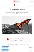 The Weather and the Wall