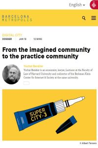 From the Imagined Community to the Practice Community summary