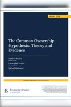 The Common Ownership Hypothesis
