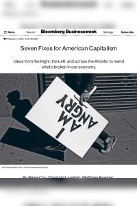 Seven Fixes for American Capitalism summary