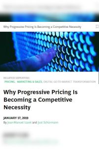 Why Progressive Pricing Is Becoming a Competitive Necessity summary