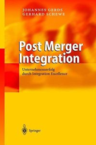 Post Merger Integration Buchzusammenfassung
