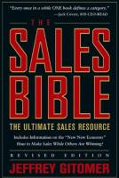 The Sales Bible book summary