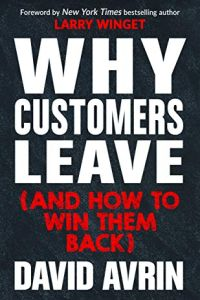 Why Customers Leave (and How to Win Them Back) book summary