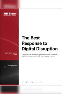 The Best Response to Digital Disruption summary