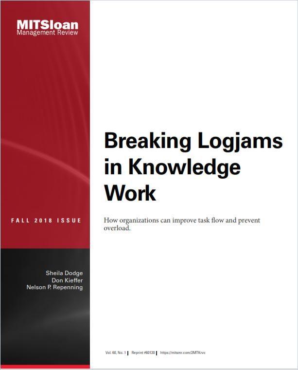 Image of: Breaking Logjams in Knowledge Work
