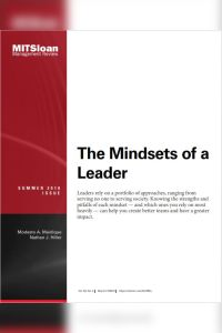 The Mindsets of a Leader summary