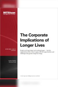 The Corporate Implications of Longer Lives summary