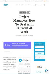 Project Managers summary