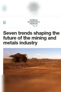 Seven Trends Shaping the Future of the Mining and Metals Industry summary