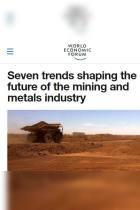 Seven Trends Shaping the Future of the Mining and Metals Industry
