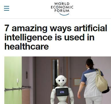Image of: 7 Amazing Ways Artificial Intelligence Is Used in Healthcare