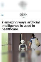 7 Amazing Ways Artificial Intelligence Is Used in Healthcare