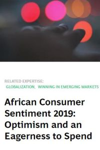 African Consumer Sentiment 2019 summary