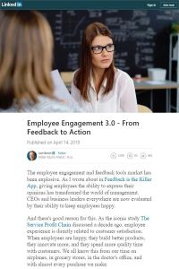 Employee Engagement 3.0 summary