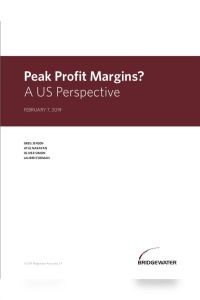 Peak Profit Margins? summary