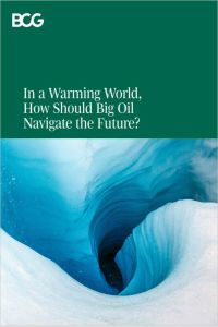 In a Warming World, How Should Big Oil Navigate the Future? summary