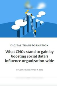 What CMOs Stand to Gain by Boosting Social Data's Influence Organization-Wide summary