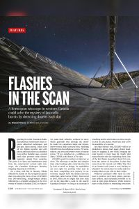 Flashes in the Scan summary