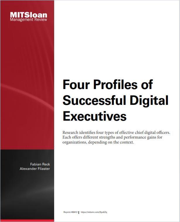 Image of: Four Profiles of Successful Digital Executives