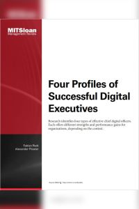 Four Profiles of Successful Digital Executives summary