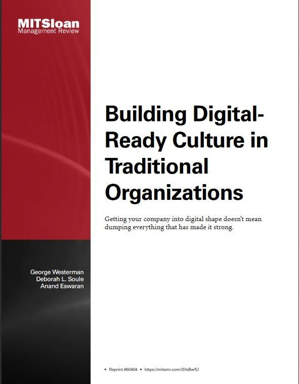 Image of: Building Digital-Ready Culture in Traditional Organizations