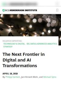 The Next Frontier in Digital and AI Transformations summary