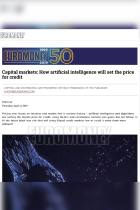 Capital Markets: How Artificial Intelligence Will Set the Price for Credit