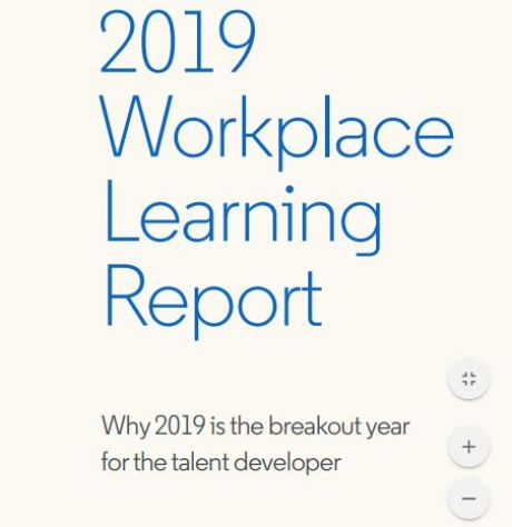 Image of: 2019 Workplace Learning Report