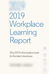 2019 Workplace Learning Report summary