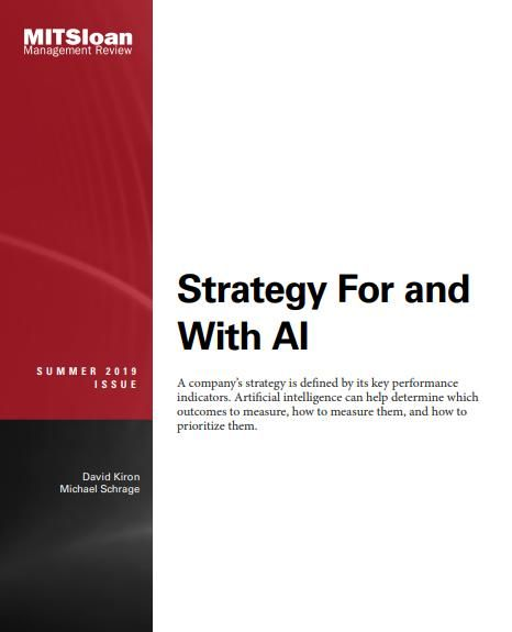 Image of: Strategy For and With AI