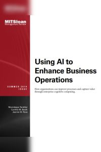 Using AI to Enhance Business Operations summary