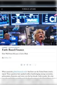 Faith-Based Finance summary