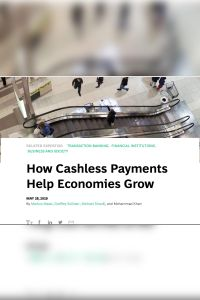 How Cashless Payments Help Economies Grow summary