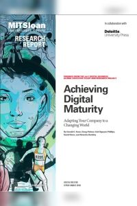 Achieving Digital Maturity summary