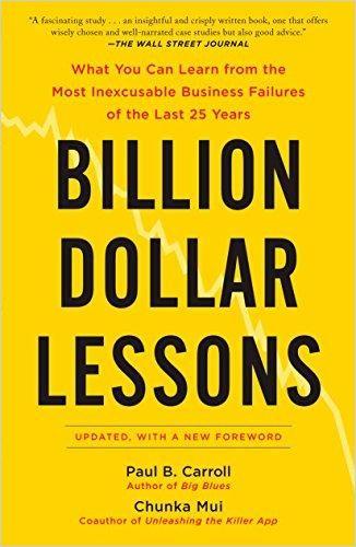 Image of: Billion Dollar Lessons