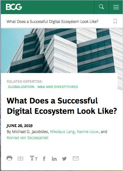 Image of: What Does a Successful Digital Ecosystem Look Like?