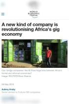 A New Kind of Company Is Revolutionising Africa's Gig Economy