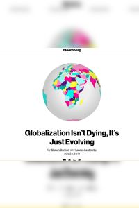 Globalization Isn't Dying, It's Just Evolving summary