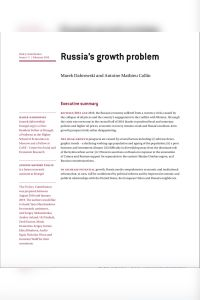 Russia's Growth Problem summary