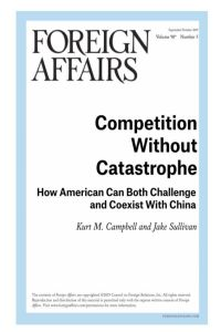 Competition Without Catastrophe summary