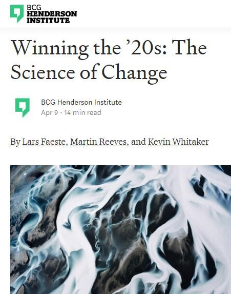 Image of: The Science of Change